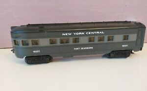 """Lionel 16021 O Scale New York Central """"FORT DEARBORN"""" Observation Car"""