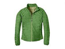 NWT Eddie Bauer First Ascent Womens Microtherm StormDown Jacket / Shirt Kiwi