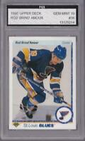 ROD BRIND' AMOUR 1990-91 UPPER DECK #36 FGS 10 GRADED