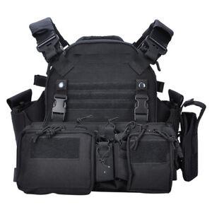 Tactical Commuter vest Chest Rig Vest Protective Vest Backpack