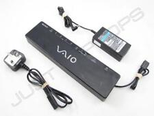 Sony Vaio USB 2.0 Docking Station Port Replicator + VGA DVI Video + AC-NB12A PSU