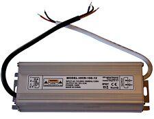 100 Watt 12V Transformer Connector Power Supply LED Halogen IP 67 8,3 A