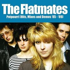 THE FLATMATES - POTPOURRI (HITS,MIXES AND DEMOS '8) 2 VINYL LP NEU