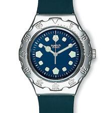 RARE *NEVER WORN* SWATCH 1997 Irony Scuba 'PROFONDITA' YDS106 Steel Watch