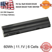 60Wh T54FJ E6420 Battery for Dell Latitude E5420 E6420 E6520 E6530 T54FJ M5Y0X P
