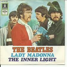 7'the Beatles > LADY Madonna/The inner light < GERMANY Trachten COVER!