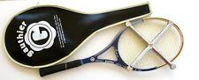 Raquette Tennis ancienne - GAUTHIER MADAME - avec Housse et serre Raquette Elan