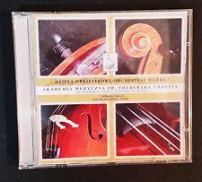 CD - Dziela Orkiestrowe - Orchest Works - Akademia Muzyczna Im Fryderyka Chopina