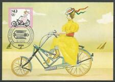 Germany Berlin Maximum Card 1985 Cycling Historic Bicycles Jaray 1925