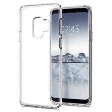 Genuine SPIGEN Liquid Crystal Soft Slim Cover for Samsung Galaxy S9 S8 Plus Case