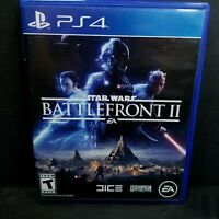 Star Wars: Battlefront II 2 Sony PlayStation 4 PS4 Video Game