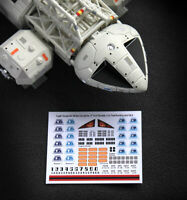 "SPACE 1999 EAGLE - DECAL MARKINGS - Sixteen12, MPC & ALL 12"" INCH Models - NEW"