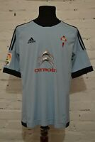 CELTA VIGO HOME FOOTBALL SHIRT 2013/2014 SOCCER JERSEY CAMISETA ADIDAS MENS L