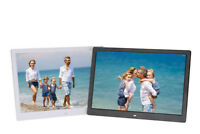 """7/8/9/10/13/15"""" Digital Photo Frame Album MP4 Picture Player HD Display W/Remote"""