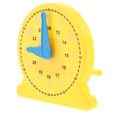 Plastic Teaching Clock Toy Educational Time Conversion Learning Math Puzzles
