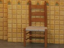 Kitchen Chair With Rope Seat, Dolls House Miniature