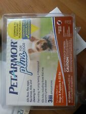 Pet Armour Plus For Small Dogs 5-22lbs Flea Tick 3 Applications