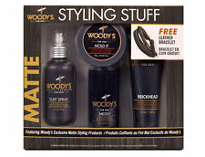 Woody's Matte Styling Stuff for Men, Gift Set