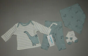 NWT, Baby boy clothes, Newborn, Carter's 4 piece set/     ~~SEE DETAILS ON SIZE~