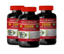 brain and memory - BORON COMPLEX - testosterone booster supplement 3B