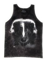 The Mountain 100% Cotton Men's Tank Top - Skunk Portrait NWT