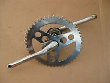 """1960s - 1970s Rollfast 26"""" 3 speed Bicycle Crankset with 8"""" Sprocket"""