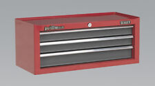Sealey AP22309BB Add on Top Chest 3 Drawer Ball Bearing Runners Non Slip Liner