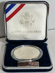 1997-P National Law Enforcement Officers Memorial Silver Dollar Proof 190450p