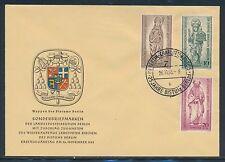 Briefmarken aus Deutschland (ab 1945) mit Ersttagsbrief für Architektur