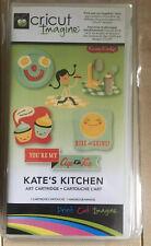 Cricut Imagine Art  Cartridge   Kate's Kitchen USA Cupcake Provo Craft Neu