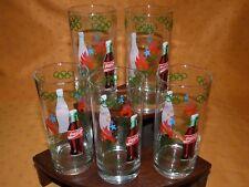 Lot de 5 verres Coca Cola JO Atlanta 1996 Très bon état / Olympic Games glasses