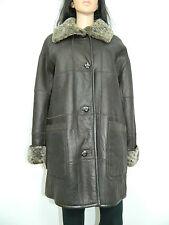 CHRIST SHEARLING COAT JACKET 100% SHEEPSKIN   German leather fashion Sz.L-XL