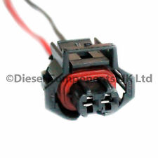 Diesel Injector Connector Plug 2 Pin Pre-Wired - Bosch Diesel Injectors x 1