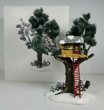 Department 56 Snow Village Series 1997 Treetop Tree House #56.54890