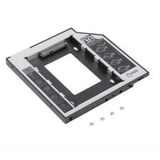 AU 9.5mm Universal SATA 2nd HDD SSD Hard Drive Caddy for CD/DVD-ROM Optical AQ