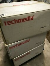 NEW TECHMEDIA AT FULL SIZE TOWER CASE WITH POWER SUPPLY & CASE ACCESSORIES