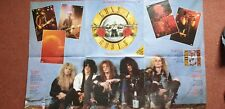 """GUNS N' ROSES, """"WELCOME TO THE JUNGLE"""". RARE UK 1987 LTD EDITION POSTER SLEEVE."""