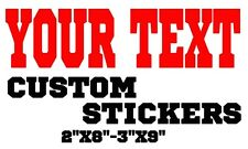 Custom name vinyl decal sticker for car truck laptop/netbook window Personalized