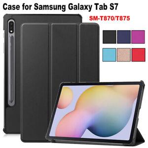 """SMART COVER BOOK per Samsung Galaxy Tab S7 11"""" CUSTODIA MAGNETICA STAND SUPPORTO"""