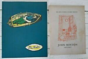 1958 John Minton & 1994 John Minton 1914-1957 Selective Retrospective KY410