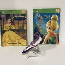 Leap Frog Tag TinkerBell beauty And The Beast Used