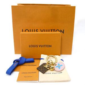 Authentic LOUIS VUITTON Bijoux Sac Fetish Lug Tag Key Holder M68996 #K502083