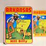 "#3571 Arkansas HillBilly AR USA Vintage Retro Luggage Label 3x4"" Decal STICKER"