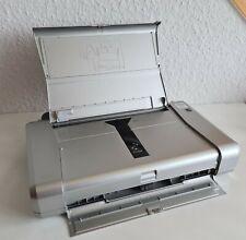 Canon PIXMA iP100 Drucker Laptopdrucker Tintenstrahl Fotodrucker silber