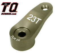 TLR Servo Horn 23T 23 Tooth Aluminum: 22 2.0 SCT T TLR1555 Fast Shipping wTrack#
