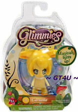 "Glimmies Cornelie Fairy Doll Magically Lights Up in Dark 2.5"" Single Yellow"