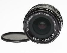 SMC Pentax K f2.8 24mm Asahi Opt Co wide angle in very good condition for age