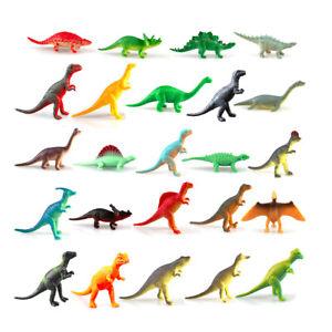 Christmas Advent Calendar Realistic Figurine Toy Xmas 24 Days Countdown Dinosaur