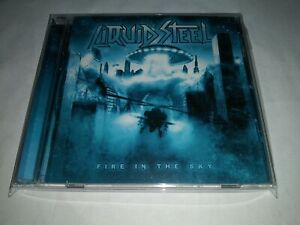 LIQUID STEEL Fire In the Sky CD 9 tracks 2014 Scream TopX Germany