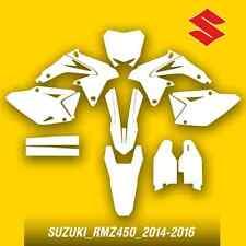 Suzuki_rmz450_2014-2016 motocross vector template (1:1 scale)